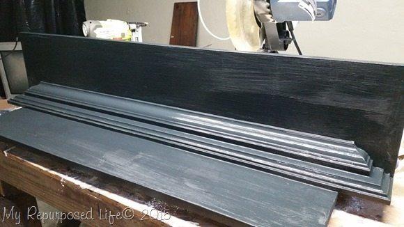 black-wall-shelf-crown-molding