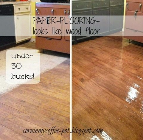 brown-paper-flooring
