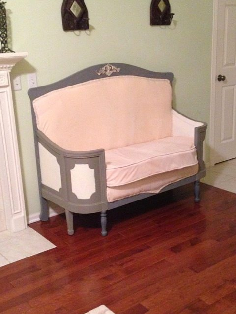 diy-settee-crib-foot-board