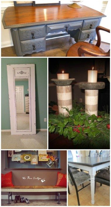 diy-tutorial-desk-mirror-candles-bench-table