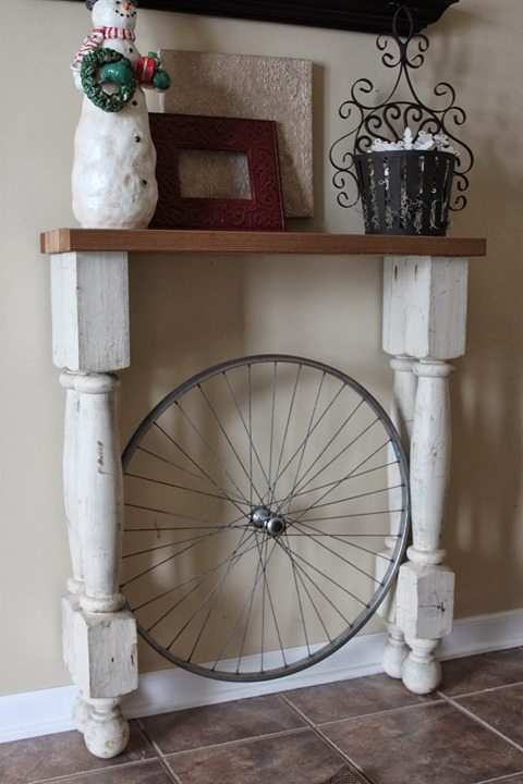 foyer-table-bicycle-wheel