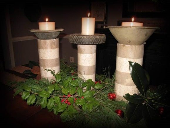 junky-candle-holders-repurposed-items