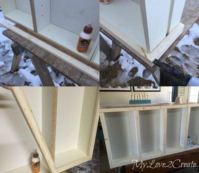 adding 1x2 trim