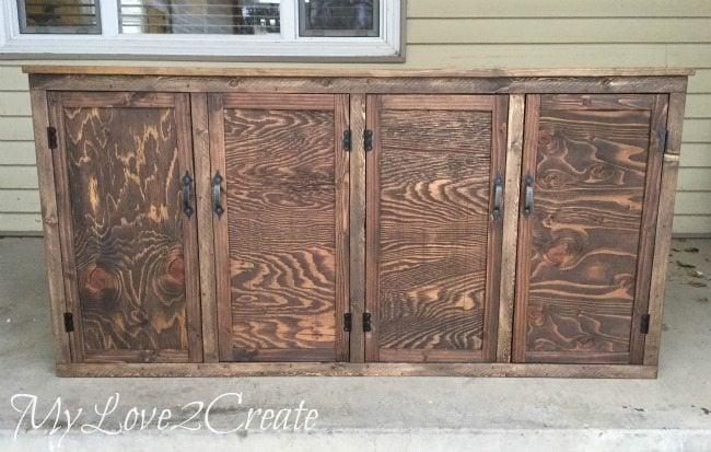 MyLove2Create, kid's old drawer media Cabinet