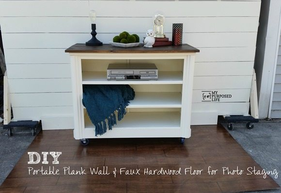 MyRepurposedLife-DIY-portable-plank-wall-faux-hardwood-floor-photo-staging