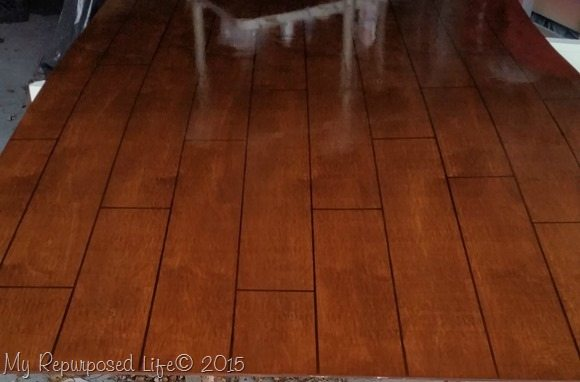 hardwood floor photo prop my repurposed life. Black Bedroom Furniture Sets. Home Design Ideas