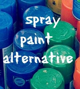 Spray Paint Alternative with HomeRight Sprayer