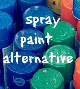 spray paint alternative