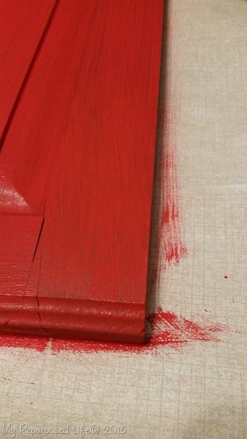 red-cabinet-door