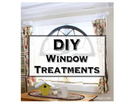 HometoCottage.com-DIY-window-treatments-in-Breakfast-Room