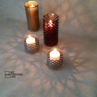 Easy Sheet Metal Candle Lantern