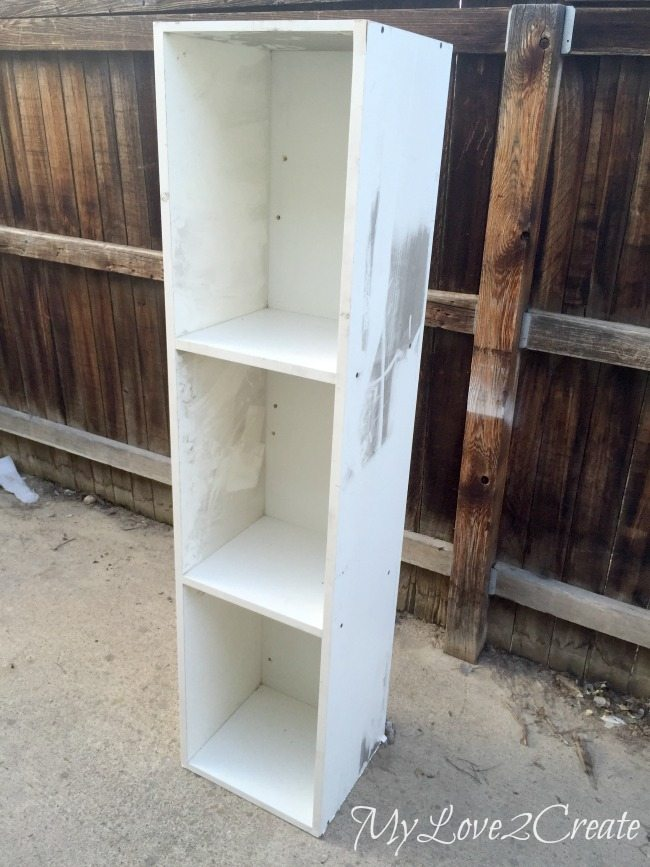 before of cheap laminate cabinet