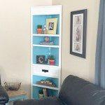 Corner Cabinet Makeover
