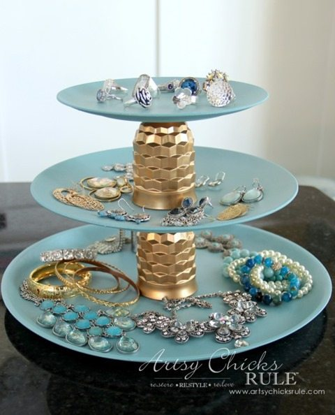 gold-blue-Jewelry-Tray-DIY-Artsy-Chicks-Rule