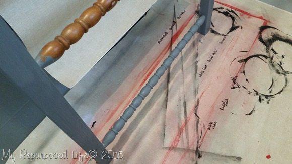 gray-diy-blanket-ladder