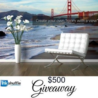 $500 Giveaway from Inkshuffle.com