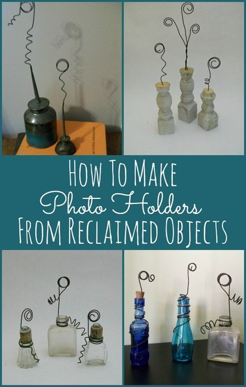 Photo Holders Reclaimed Objects