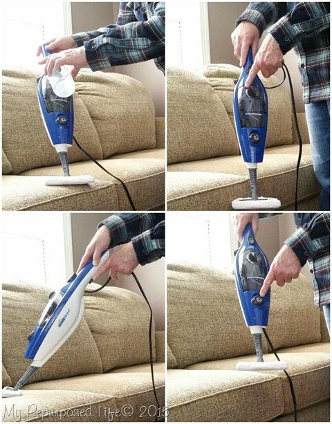 Steammachine Plus spring cleaning