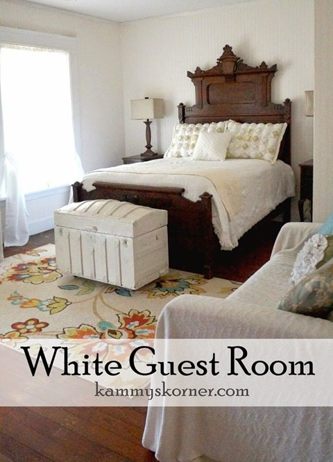 white-guest-room