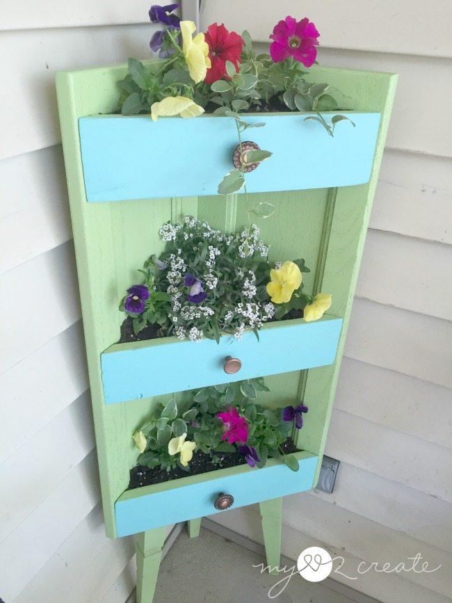 planter in corner closer