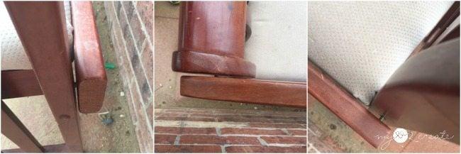 Loose screws on bench