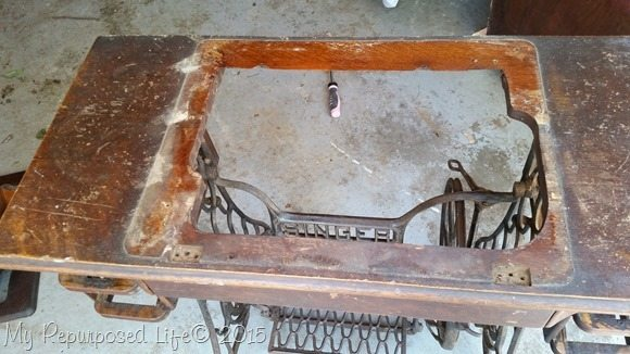gutted-treadle-sewing-machine