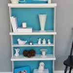 Repurposed Drawers Bookcase