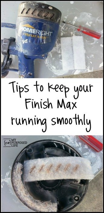 HomeRight Finish Max Tips
