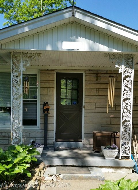 Replace Porch Posts