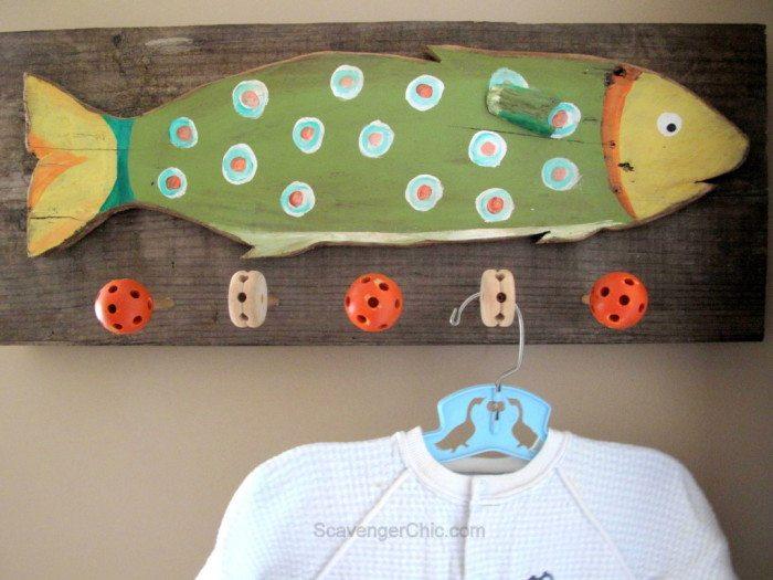 Best Tinker Toys For Kids : Reclaimed wood coat rack