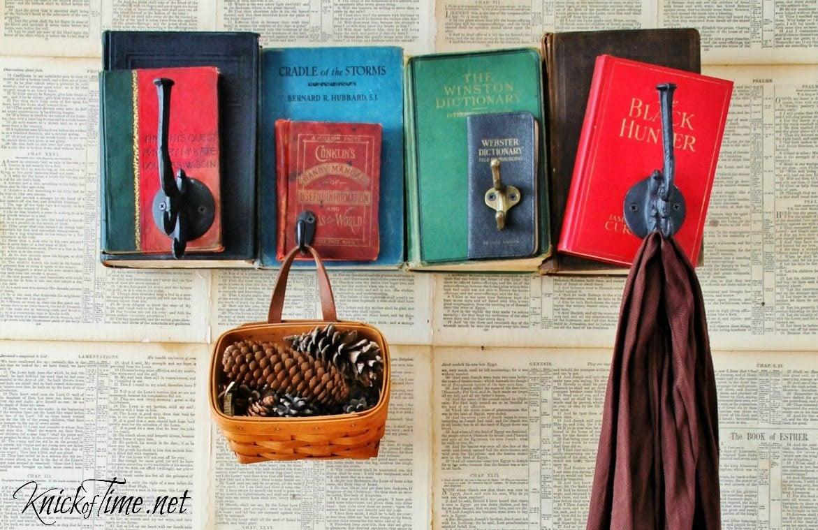 Repurposed Books Coat