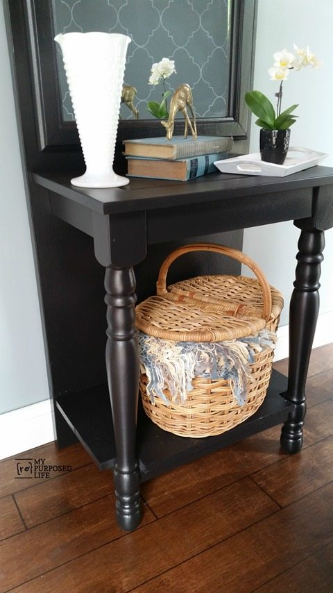 my repurposed life easy diy entryway table cheap entryway furniture