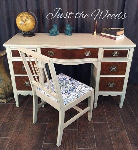 burl-wood-desk-makeover