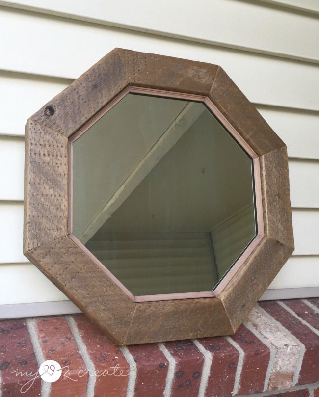 diy octagon mirror