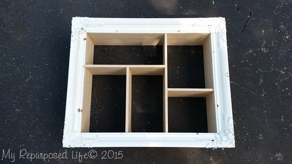 how to build shadow box cubbies