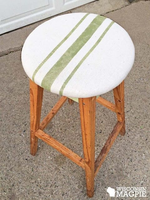 painted-stripe-fabric-stool