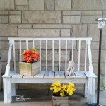 My-Repurposed-Life-white-washed-rustic-garden-bench-repurposed-crib-rails.jpg