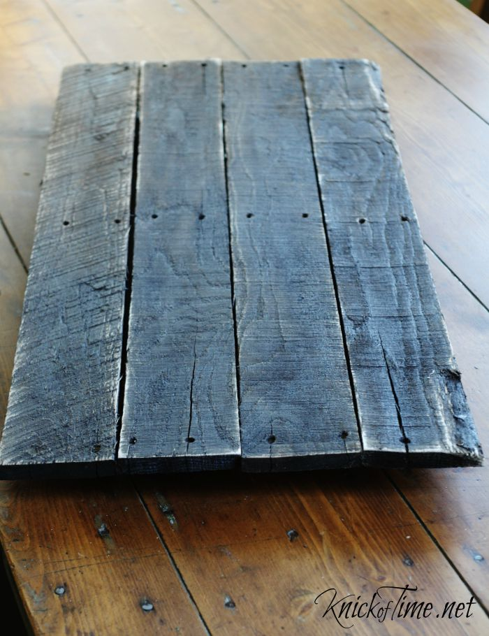 distressed pallet wood