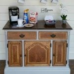 Coffee Station Repurposed Buffet