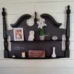 Headboard Wall Shelf