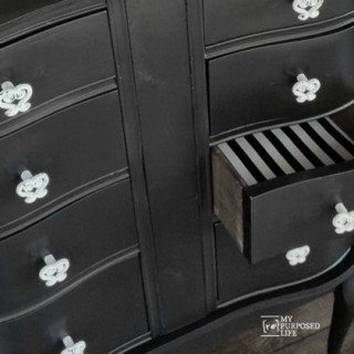 Dressing Table Repurposed Desk