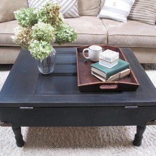 Vintage Door Coffee Table diy