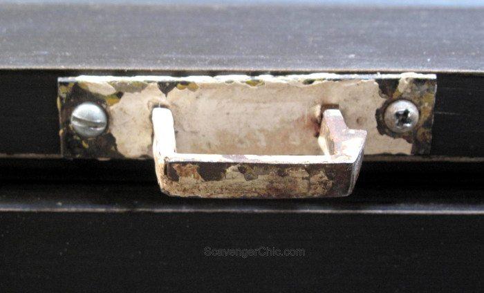 Vintage Door Coffee Table with junk handle