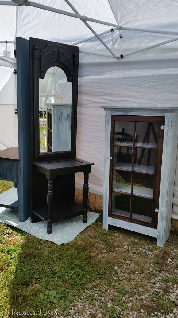 booth-setup-glendale-hall-tree-window-cabinet