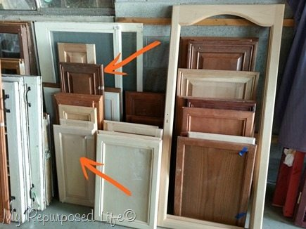 Charmant Cabinet Door Stash