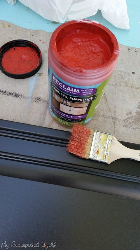 DIY chalky paint primer gets a Reclaim dry brush technique