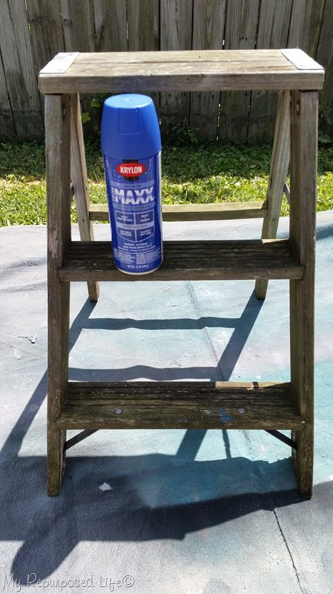 painted-stepladder-krylon