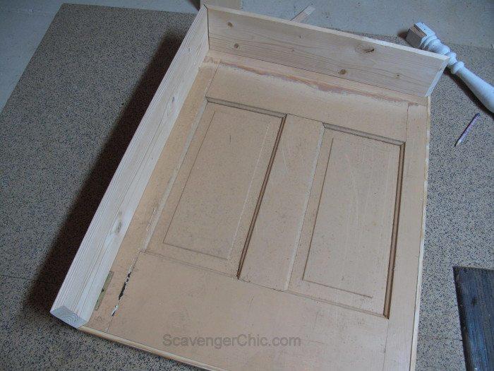 vintage door coffee table (2)