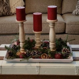 Scrap Pile DIY Candlesticks