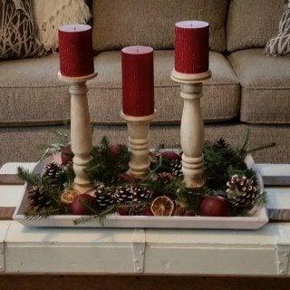 Scrap Pile DIY Candlesticks